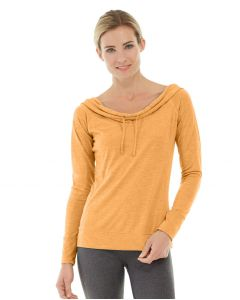 Mona Pullover Hoodlie-L-Orange