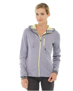 Phoebe Zipper Sweatshirt-XS-Gray