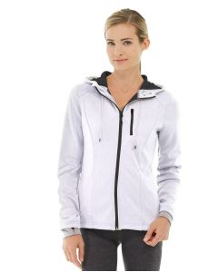 Phoebe Zipper Sweatshirt-M-White