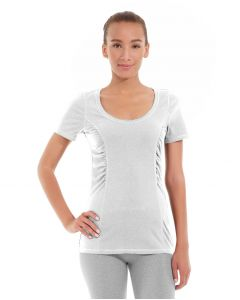 Juliana Short-Sleeve Tee-M-White