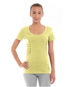 Juliana Short-Sleeve Tee-M-Yellow