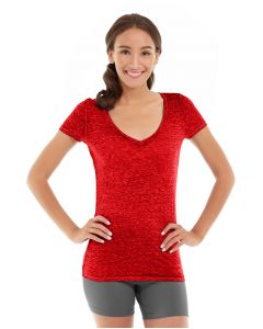 Minerva LumaTech™ V-Tee-XL-Red