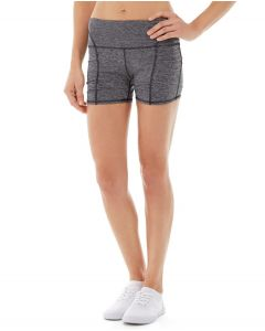 Gwen Drawstring Bike Short-30-Gray