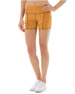 Gwen Drawstring Bike Short-31-Orange
