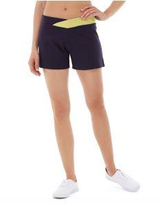 Bess Yoga Short-32-Yellow
