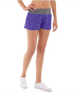 Erika Running Short-32-Purple