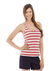 Nona Fitness Tank-S-Red