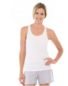 Breathe-Easy Tank-M-White